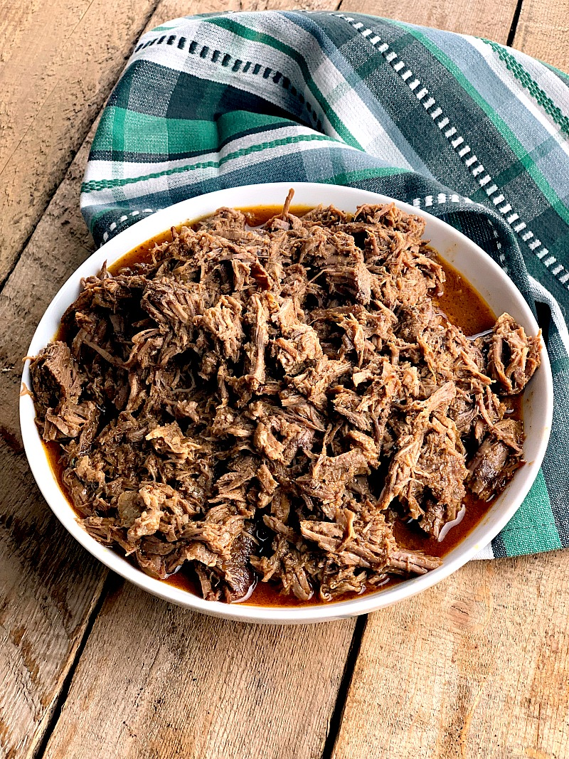 Instant Pot Mexican Shredded Beef Recipe