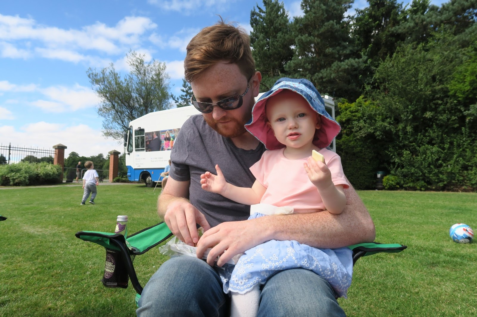 Preston Park Museum | Teddy Bears Picnic - A Review - ice cream van