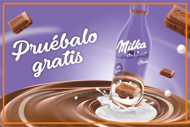 Prueba gratis el nuevo formato de  Milka Shake