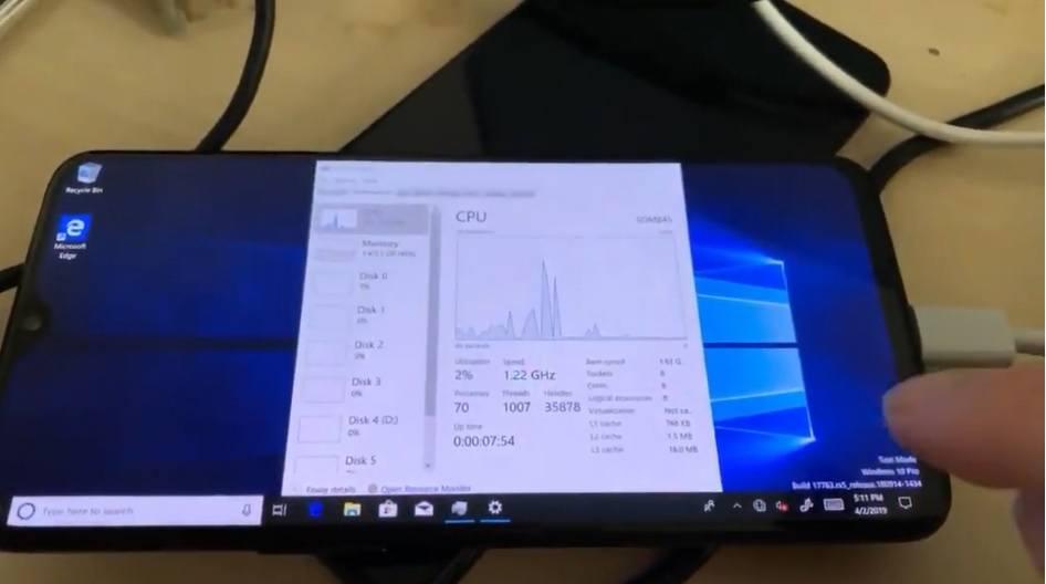 Windows 10 ARM On OnePlus 6T Mobile  | TechNews - Latest