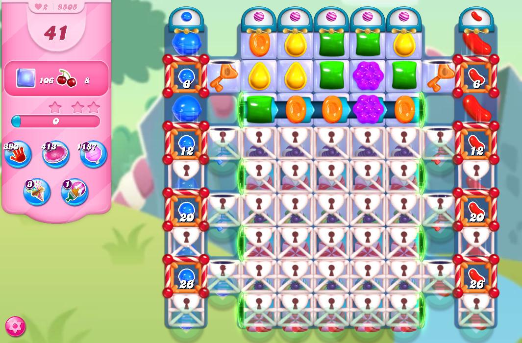 Candy Crush Saga level 9505