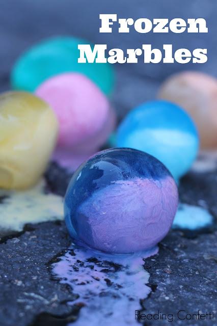 Frozen Marbles Reading Confetti