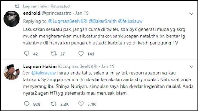 tweet politisi pkb tentang jilbab