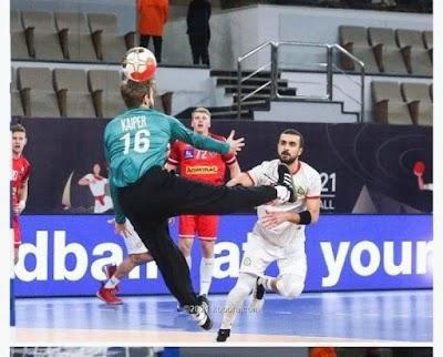 النمسا تفوز على المغرب وتحقق أول نقطتين في كأس الرئيس بمونديال اليد