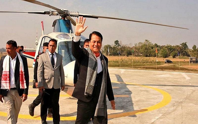 Assams-First-Heliport-Inaugurated-In-Majuli-Island