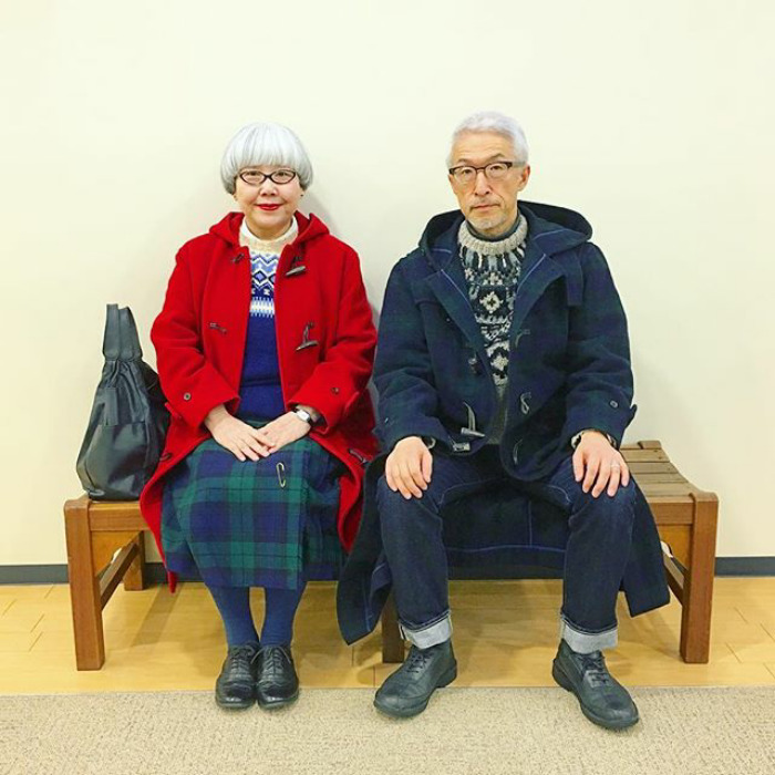 #10 - This Couple Married For 37 Years Always Dress In Matching Outfits