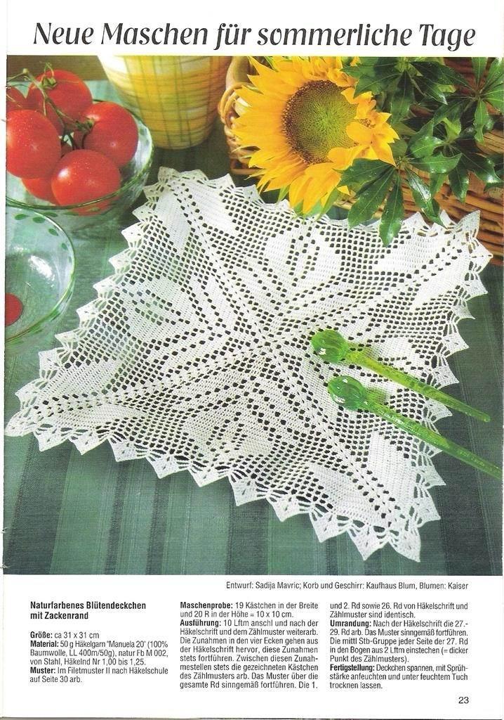 Patrones de tapetes nuevos   Patrones crochet