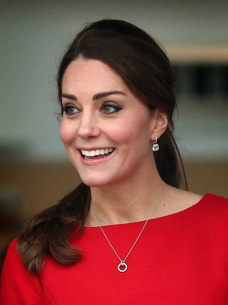 Kate Middleton Visited The East Anglias Childrens
