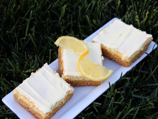 Lemon Batter Bars