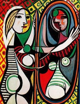 Mulher ao Espelho (1932) de Pablo Picasso