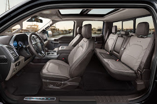 Ford F-150 Limited SuperCrew (2019) Interior