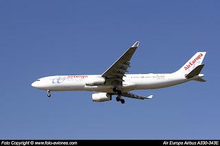 Airbus A330 EC-LXR