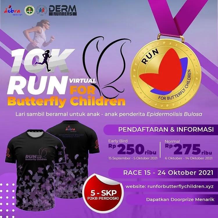 Run for Butterfly Children • 2021