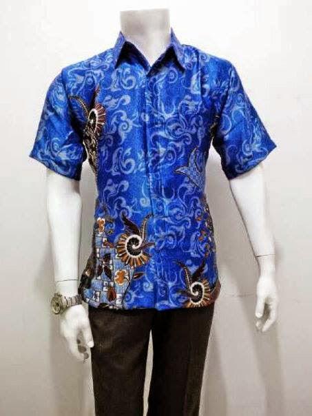Baju Kemeja Gaul Motif Batik Untuk Pria Model Terbaru