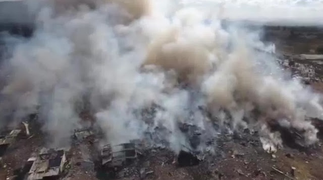 Incendios, humo