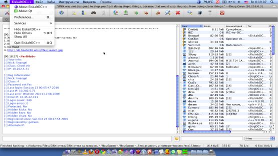 DC++ screenshot 3