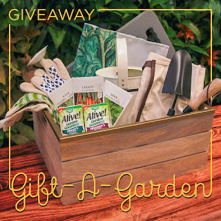 Gift A Garden Kit Giveaway   10 Winners Each Win 2 Kits That Contain: A  $100 Home Depot Gift Cards, Gardening Gloves, Wood Crate, Watering Can, ...