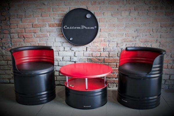 Creative Oil Drum Furniture Ideas For Your Home Interiors