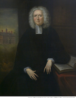 Portrait of Rev. James Blair, courtesy of Muscarelle Museum of Art at the College of William & Mary, via Encyclopedia Virginia.