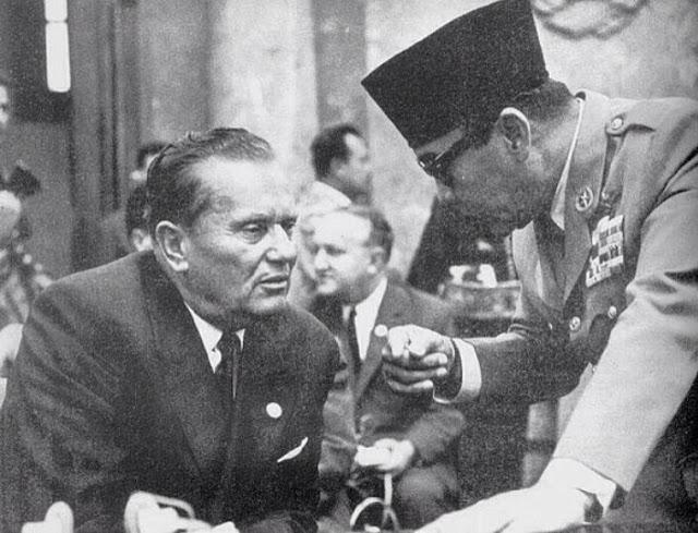 Sukarno dan Josip Broz Tito
