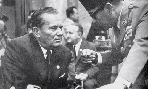 Sukarno Bertanya Kepada Josip Broz Tito Tentang Nasib Bangsa
