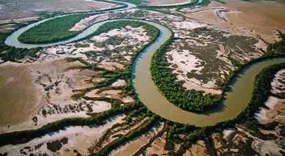 """Contoh pertanyaan ilmiah dalam penelitian lanskap ekologi seperti: """"Sejauh mana pepohonan yang tumbuh berjajar di pinggiran sungai berfungsi sebagai pembatas penyebaran hewan di habitat tersebut?"""""""