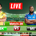 MI vs CSK: IPL 2021 resumed after 140 days, Chennai won the toss and decided to Bat, Check out the Team