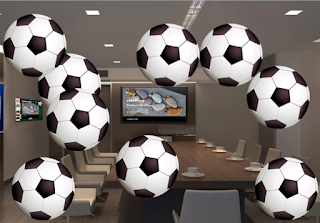 football futbol soccer office oficina