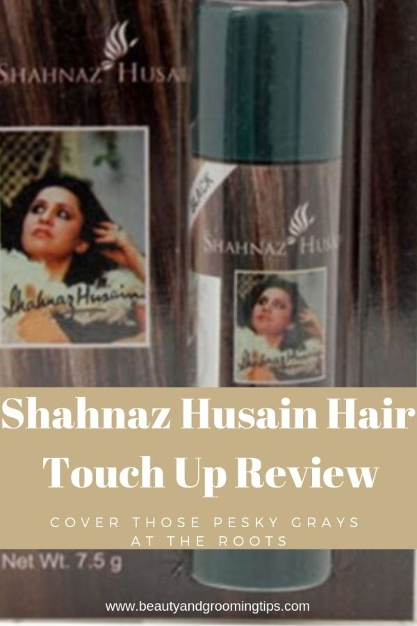 Shahnaz Husain hair touch up review