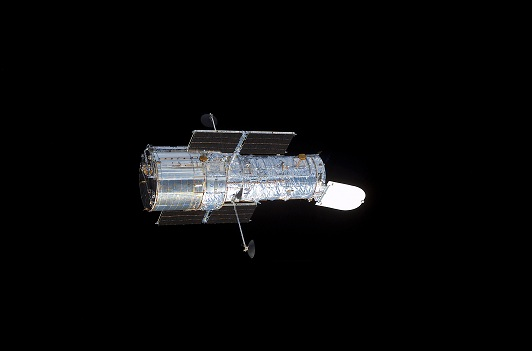 The_Hubble_Space_Telescope_in_space
