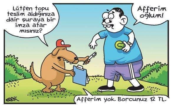 köpek kargo karikatür