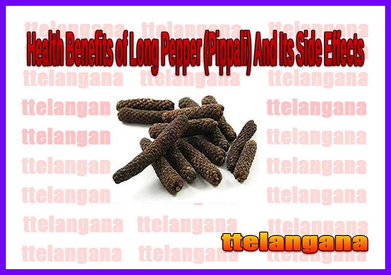 Health Benefits of Long Pepper (Pippali) And Its Side Effects