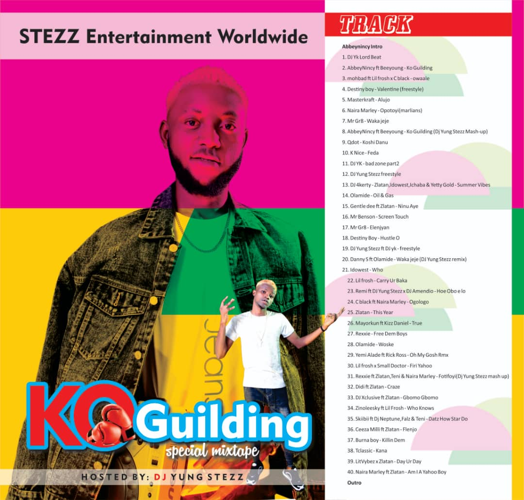 DOWNLOAD MIXTAPE: DJ Yung Steez – Ko Guiding Special Mixtape