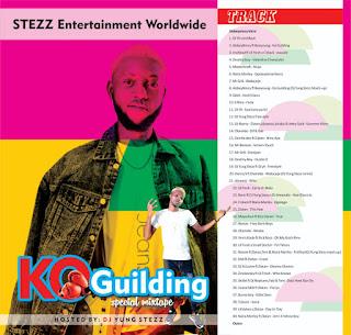 DJ Yung Steez  – Ko Guiding Special Mixtape
