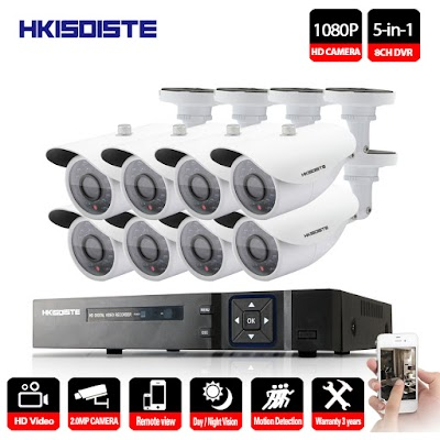 Pasang CCTV 8 Channel