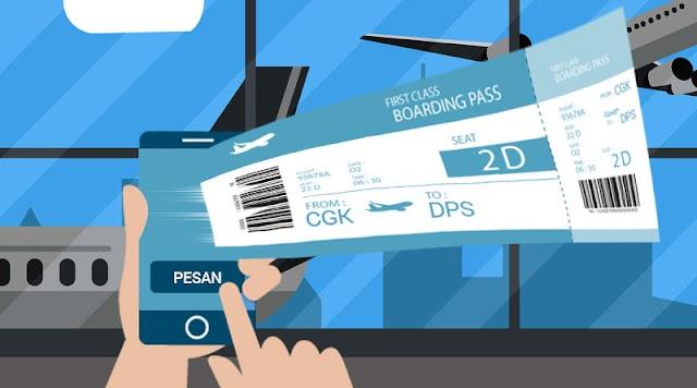 Cara Membeli Tiket Pesawat Online dan Offline