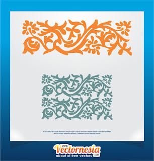 Free Download Motif Melayu Naga- Naga