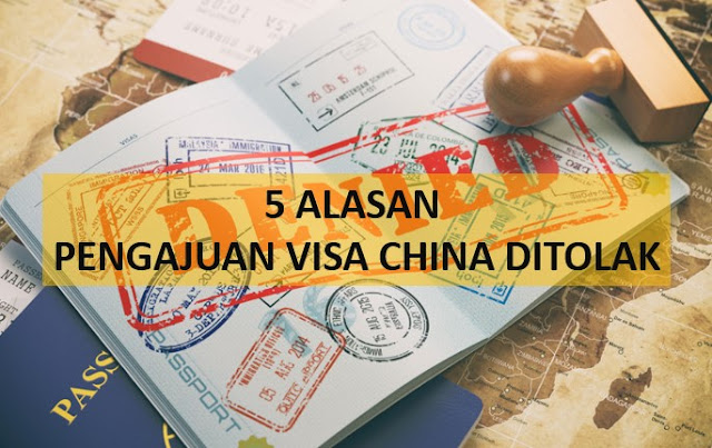 visa china ditolak