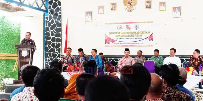 Untuk Kali Pertama Usai Dikukuhkan, Anggota DPRD Lampung Dapil V Lekukan Reses