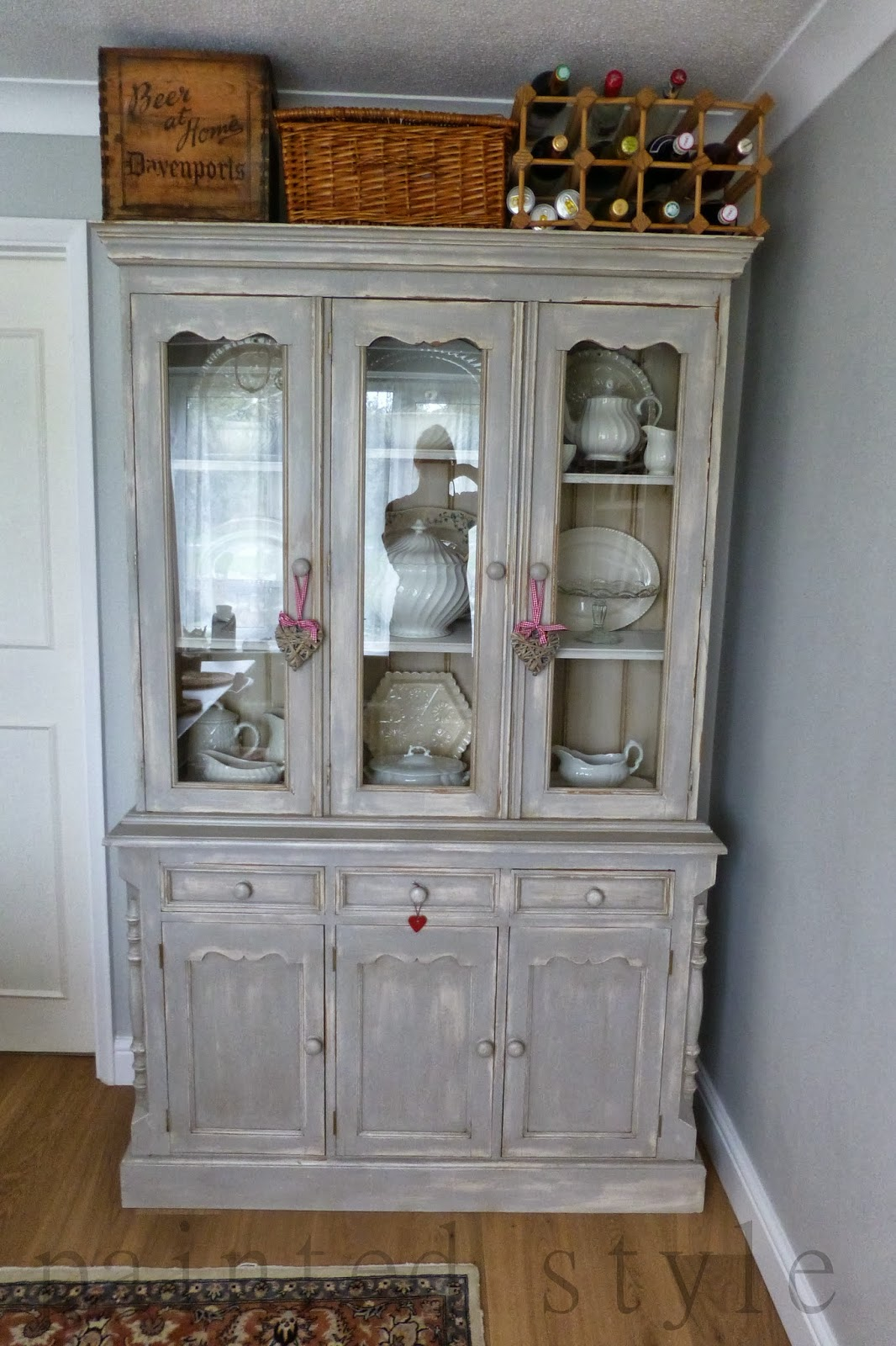 The Dining Room And Dresser Revealed
