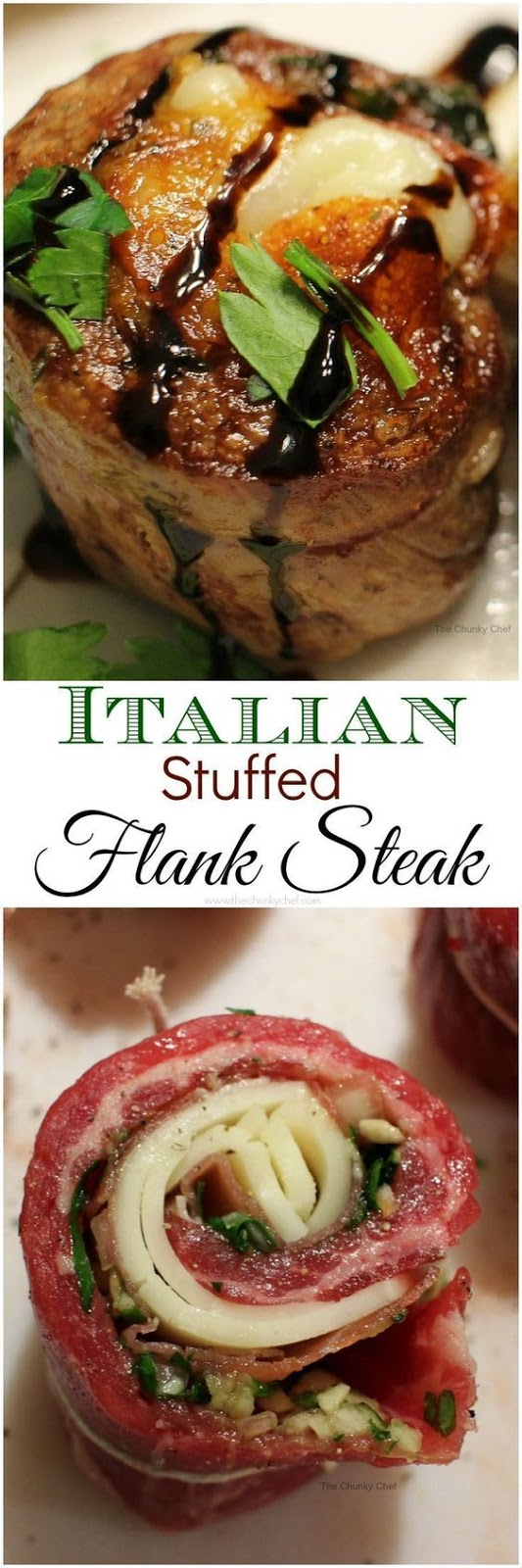 ITALIAN STUFFED FLANK STEAK