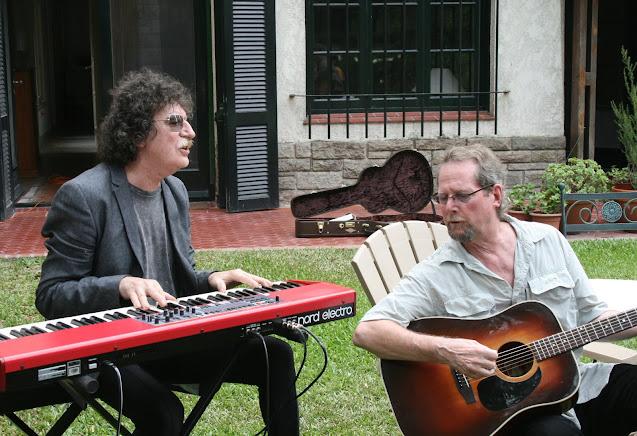 Con Roger McGuinn