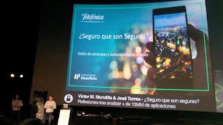 RootedCon 2018 - Victor Manuel Mundilla y José Torres - ¿Seguro que son seguras?