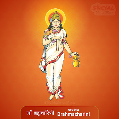 Maa Brahmacharini Image - Nav Durga Images with Names, Mantra, Slokas, Wallpaper