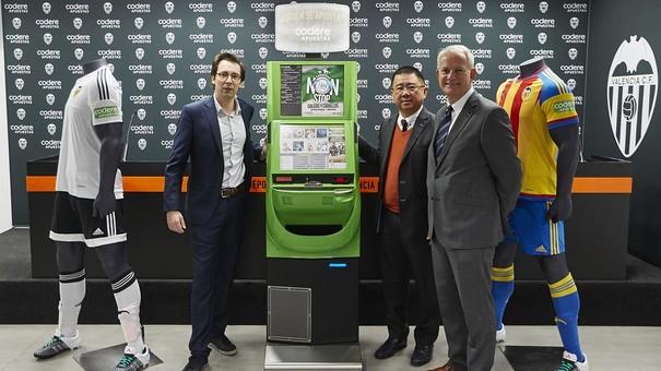 El Valencia ficha a Codere como nuevo patrocinador
