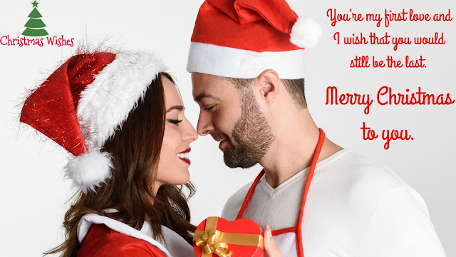 Merry Christmas Wishes, greetings, messages, quotes, card 2016 for Boyfriend, husband, him