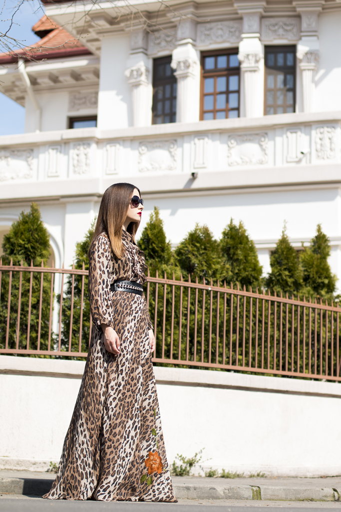 adina nanes timeless pieces the dress with animal print