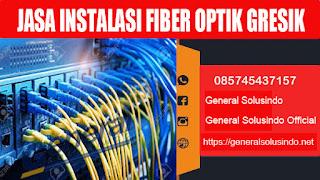 jasa instalasi serat kabel fiber optik gresik