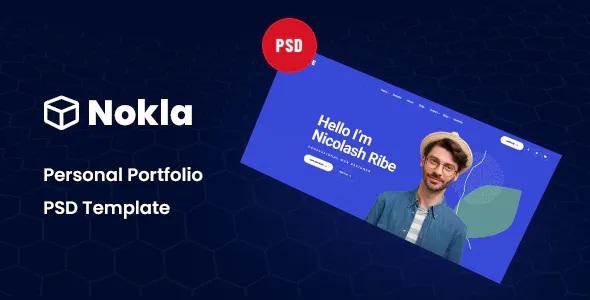Best Personal Portfolio PSD Template