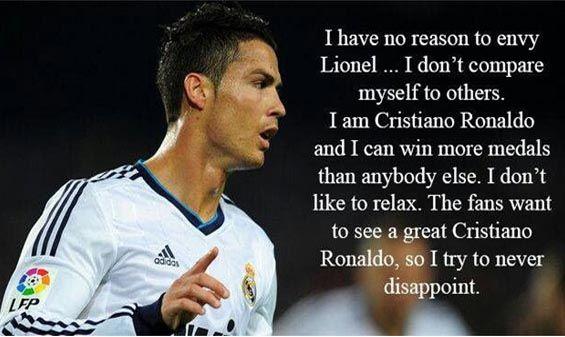 Top  Cristiano Ronaldo Quotes